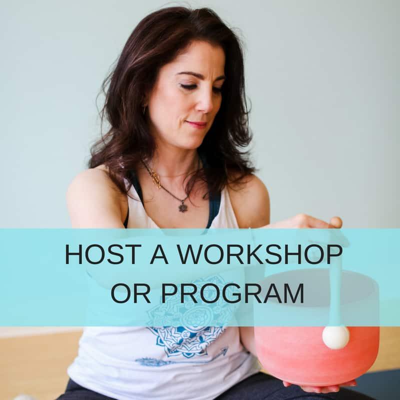 Marla Sacks Yoga - Host A Workshop