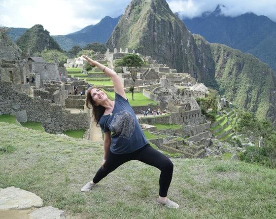 Marla Sacks Yoga - Machupichu